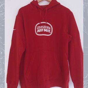 Nike ♥️ Red sweat shirt hoodie